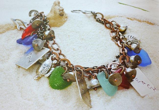 Organice Wire and Metal Jewelry - Bracelet