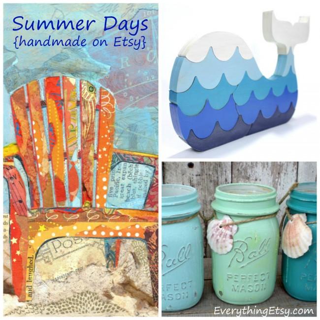 Summer Days {handmade on Etsy} - Read more on EverythingEtsy.com