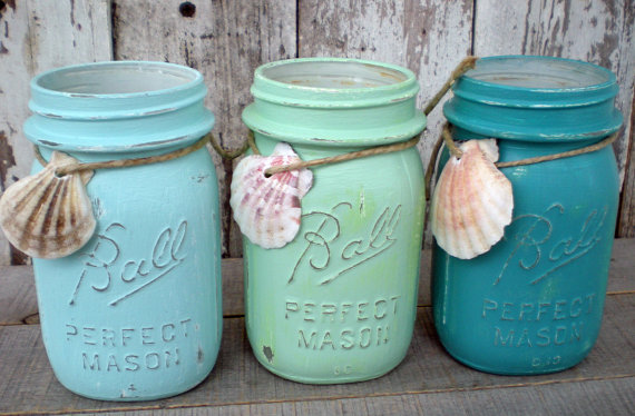 Summer on Etsy - mason jars