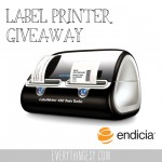 Twin Turbo Label Printer Giveaway from Endicia