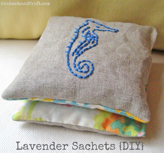 gifts to sew - lavender sachet