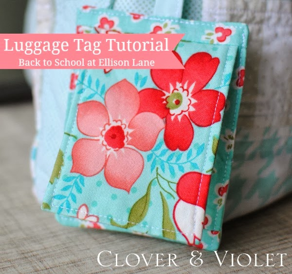 gifts to sew - luggage tags