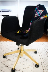 Golden Office Chair