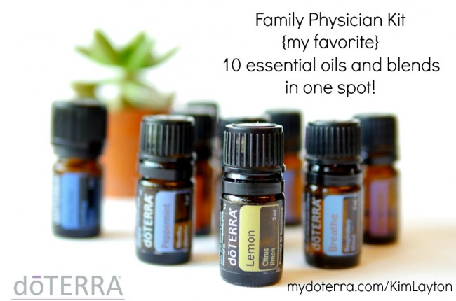 sign up for doterra essential oils - sell them or buy them for your family!
