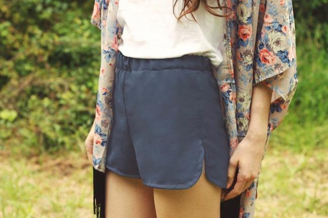simple shorts - diy pattern
