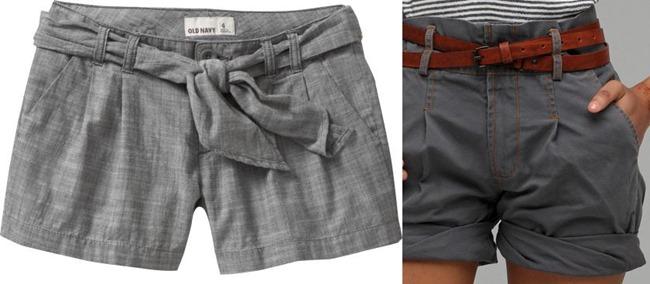 simple shorts - pants to shorts