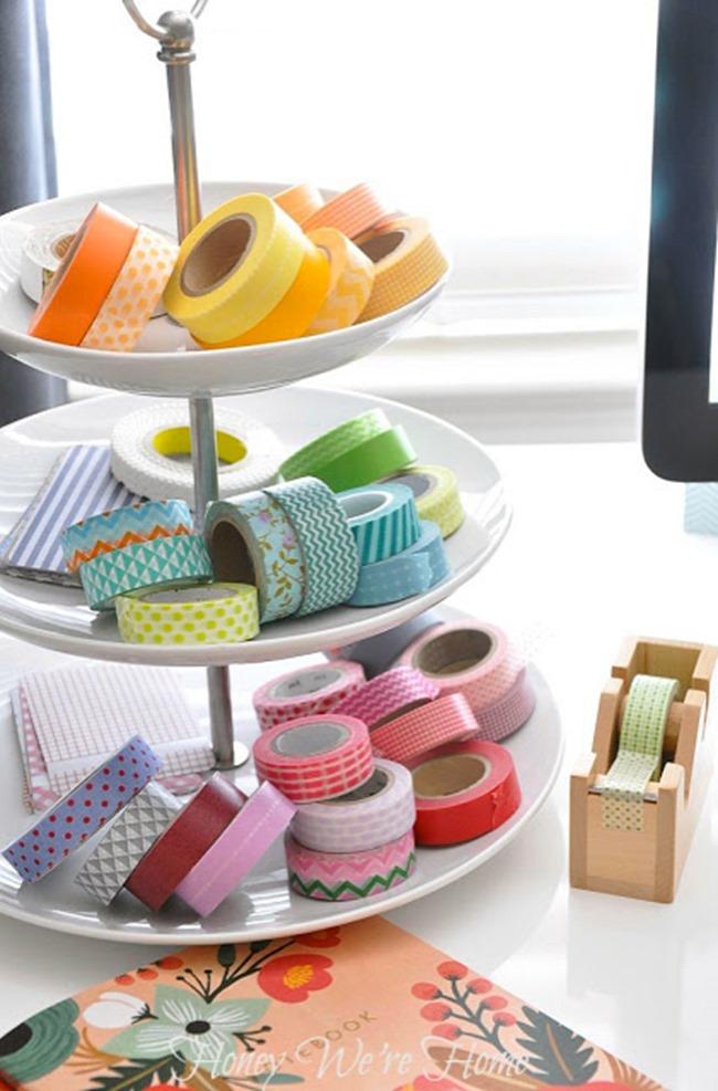 washi tape - organized 10