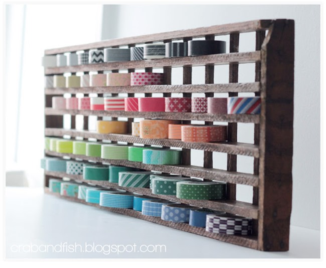 washi tape - organized 12