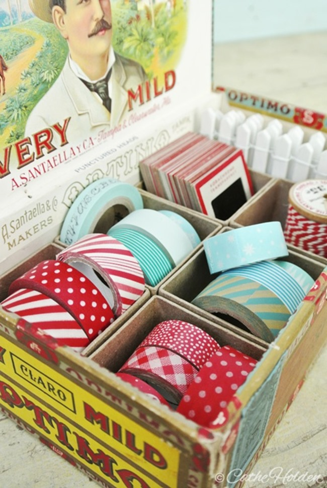 washi tape - organized 2
