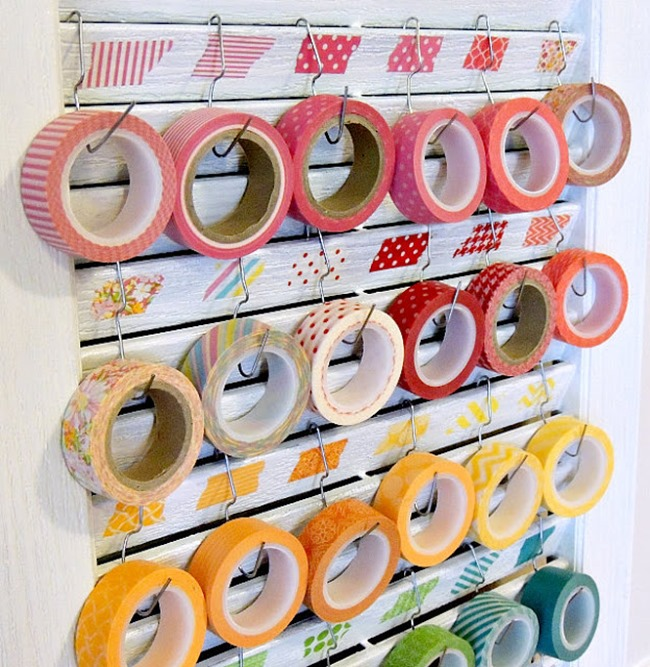 washi tape - organized 3