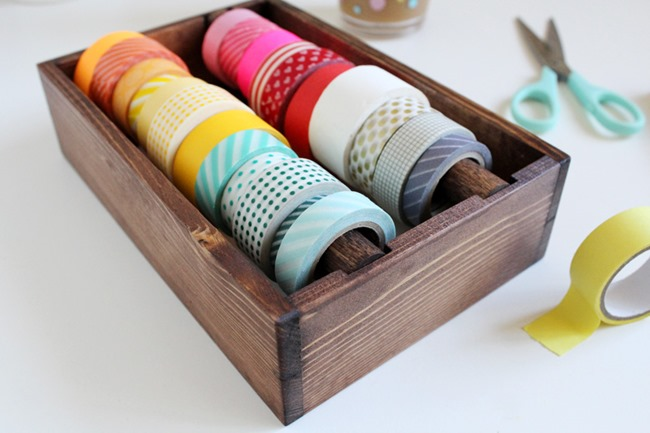 washi tape - organized 5
