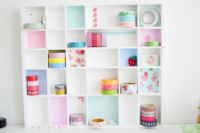 washi tape - organized 6