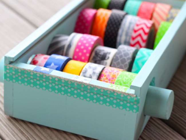 washi tape - organized 8