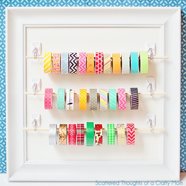 washi tape - organized 9