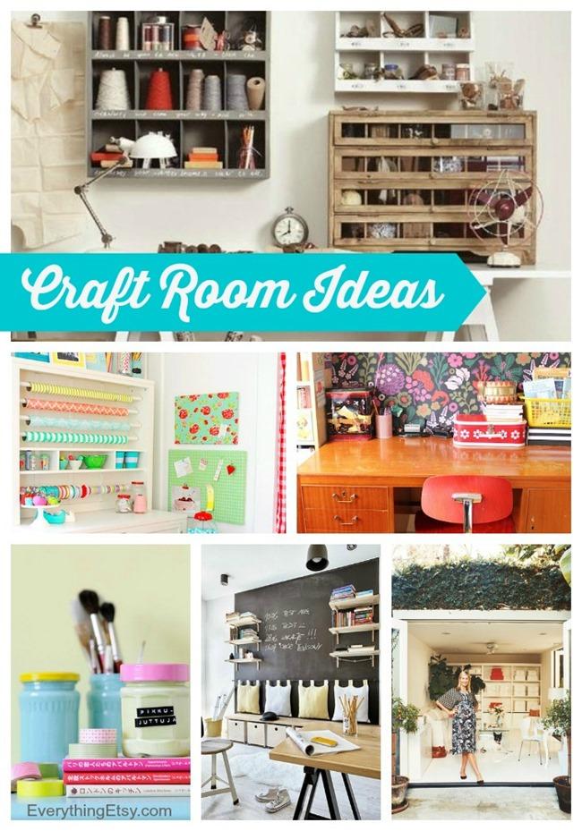 Craft Room Ideas You'll Love l EverythingEtsy.com