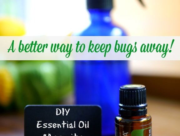 DIY Essential Oil Mosquito Repellent