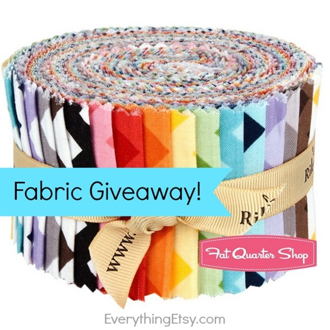 Fabric Giveaway from Fat Quarter Shop on EverythingEtsy.com - Win a $75 gift certificate!