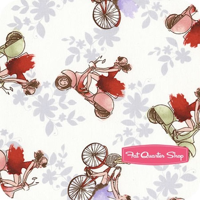 Fat Quarter Shop - Vespa
