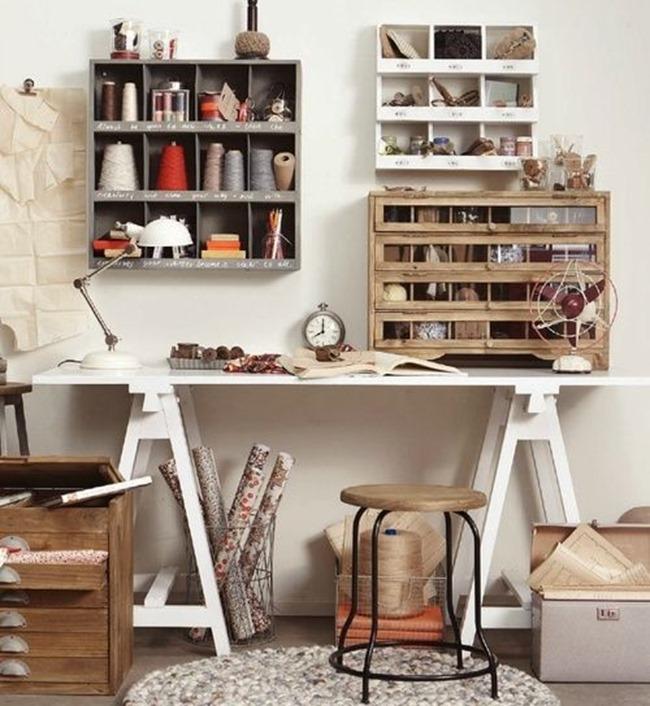 craft room ideas - organized