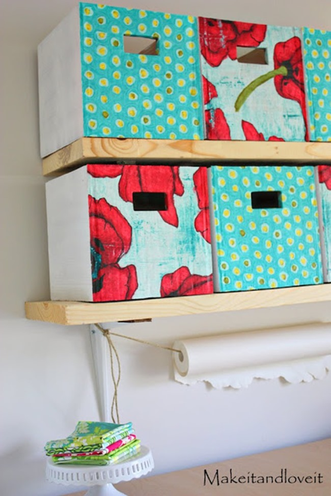 diy storage container - covered box