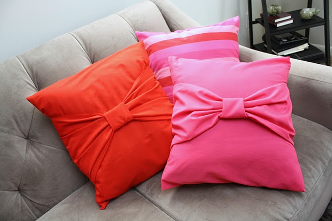 pillow tutorial - bows