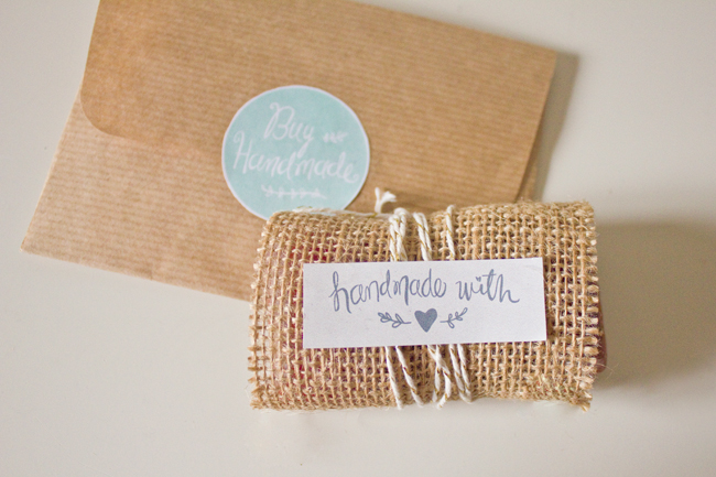 Beautiful Handmade Labels
