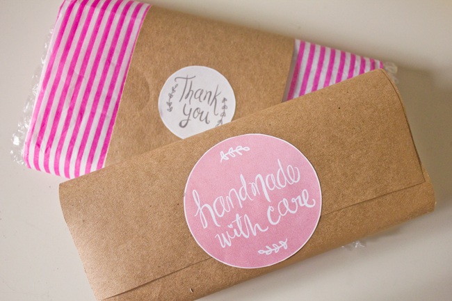 free printable labels to kick up your packaging handmade