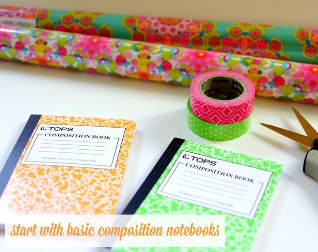 cute notebooks for school diy