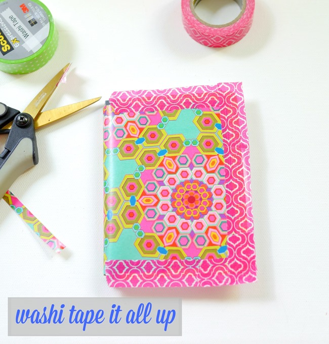 washi tape it all up