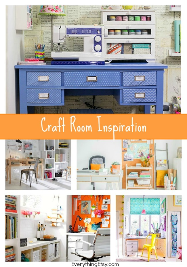 Craft Room Inspiration on EverythingEtsy.com