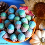 Felt Acorn Tutorial {DIY Decor for Fall}