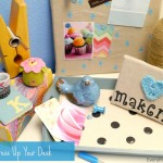 Dress Up Your Desk {Tulip For Your Home}
