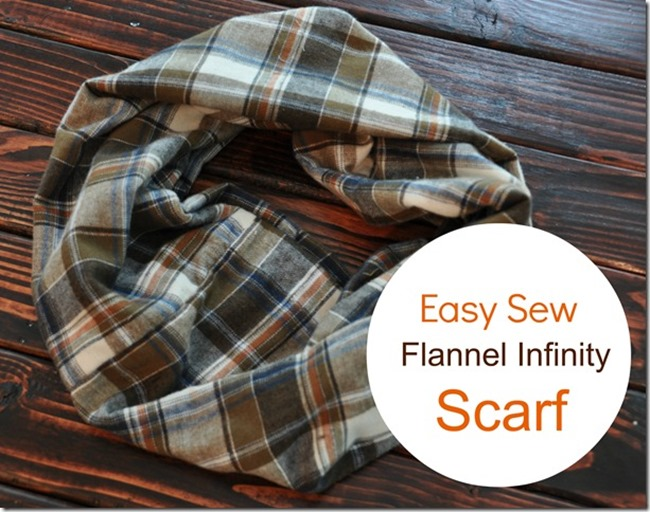 Fall Sewing Tutorials - Plaid Scarf