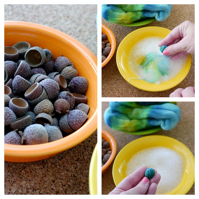 Making Felt Acorns - EverythingEtsy.com