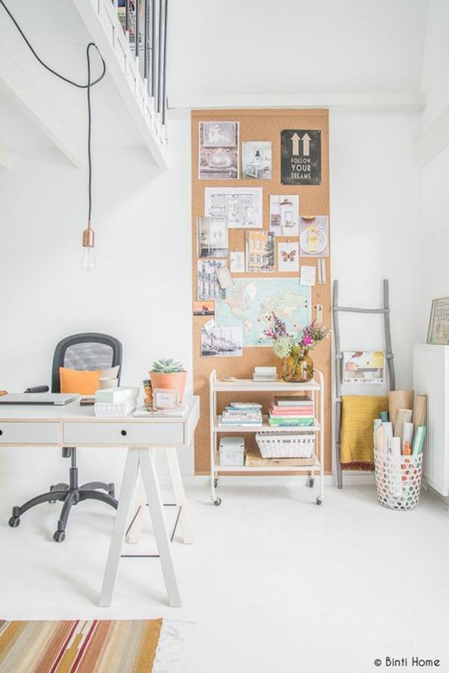 craft room inspiration - corkboard