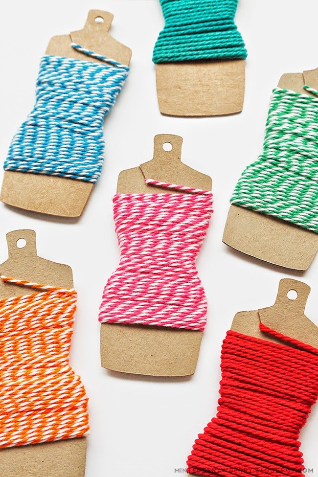 crafty ways to organize - thread holders