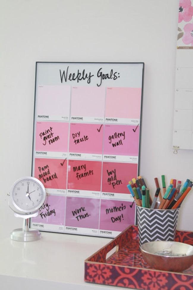 crafty ways to organize - to do