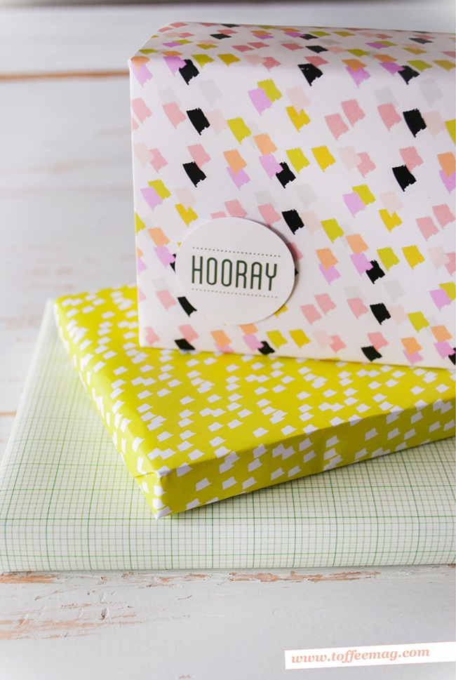 printable wrapping paper - patterns