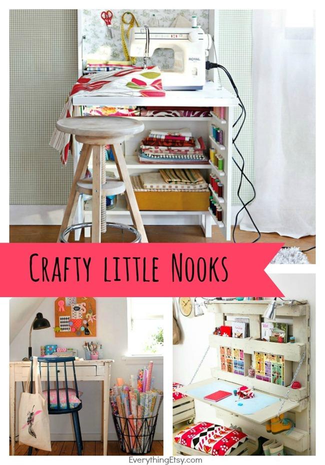 Crafty Spaces Nooks on EverythingEtsy.com