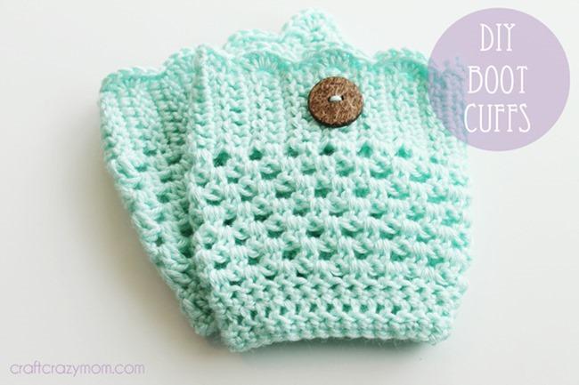 Free crochet boot cuff pattern 7