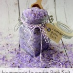 Homemade Lavender Bath Salt Tutorial