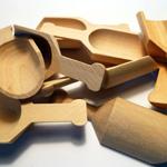 Wood Scoops