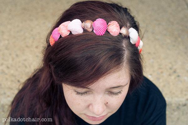 seashell-headband