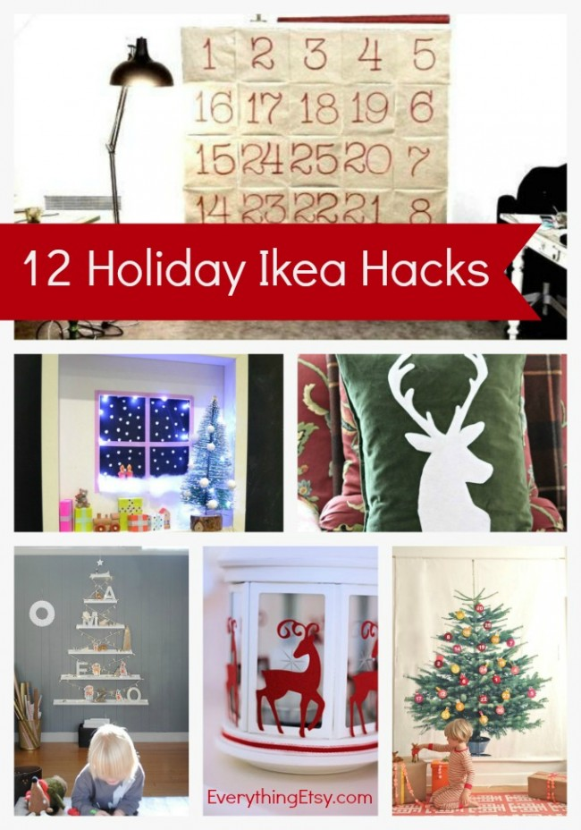 12 Holiday Ikea Hacks on EverythingEtsy.com