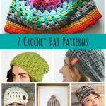 7 Crochet Hat Patterns {Free Designs}