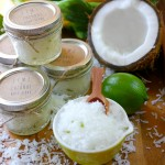 Lime & Coconut Body Scrub Tutorial {Printable}
