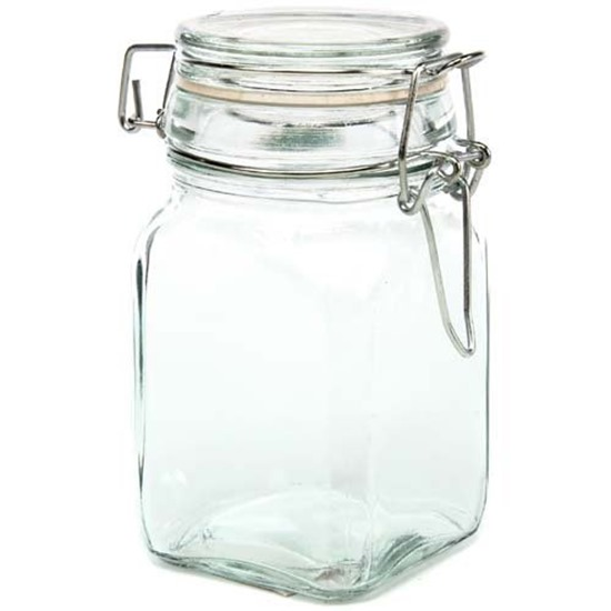 my favorite craft supplies - small glass jars