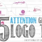 5 Attention Grabbing Logo Design Tips