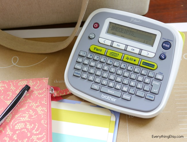 Brother Label Maker Review on EverythingEtsy.com