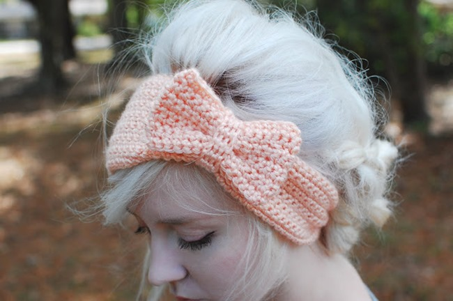 DIY Crochet Bow Headband Pattern